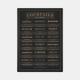 Gehalt-Cocktails-Plakat-Sort-Ramme-D