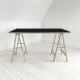 linoleum-art table-nerosort4023-domusnord