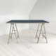 linoleum-art table-smokeyblue4179-domusnord