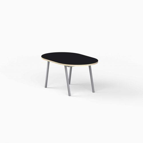 4Line-View-Lounge-Table-Krydsfiner-Sofa-Bord-Nero-Lille-graa-ben