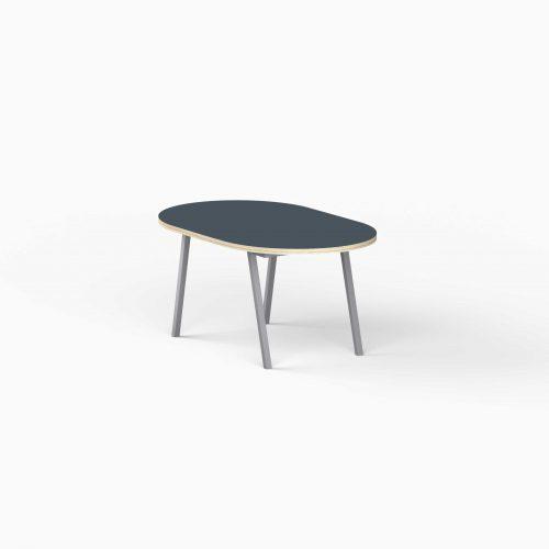 4Line-View-Lounge-Table-Krydsfiner-Sofa-Bord-SmokeyBlue-Lille-graa-ben