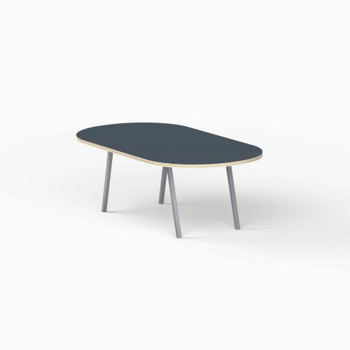 4Line-View-Lounge-Table-Krydsfiner-Sofa-Bord-SmokeyBlue-Mellem-graa-ben
