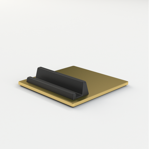 Tile iPad & iPhone holder - brass / messing​