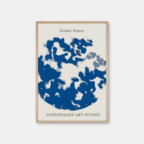 Copenhagen-Art-Studio-Global-Dance-blaa-eg-ramme
