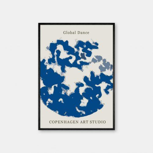 Copenhagen-Art-Studio-Global-Dance-blaa-sort-ramme