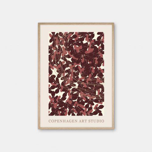 Copenhagen-Art-Studio-Leaves-Eg-Ramme