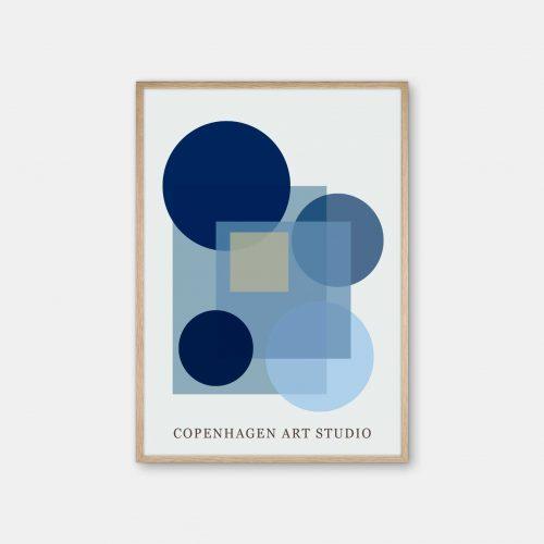 Copenhagen-Art-Studio-Sunday-blaa-eg-ramme