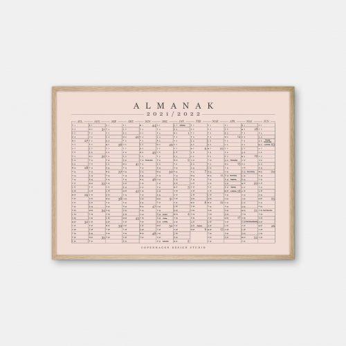 Copenhagen-Design-Studio-Halvaars-Kalender-Powder-plakat-eg-ramme