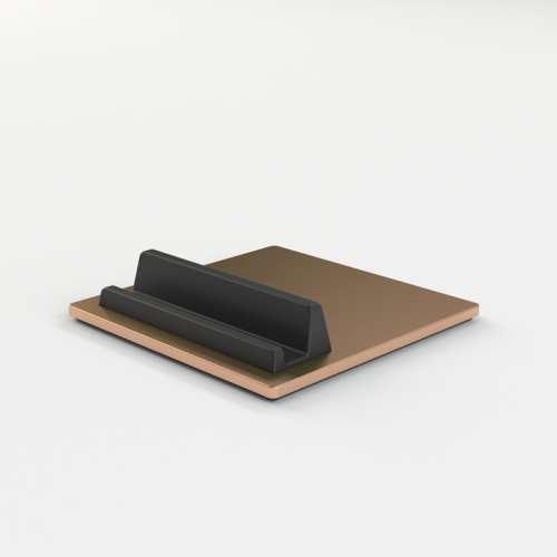 Tile iPad & iPhone holder - copper / kobber