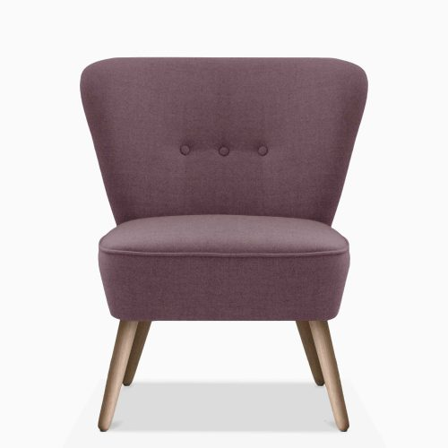 Domusnord-Have-a-Seat-Lounge-Chair---Crispy-Rose-Front