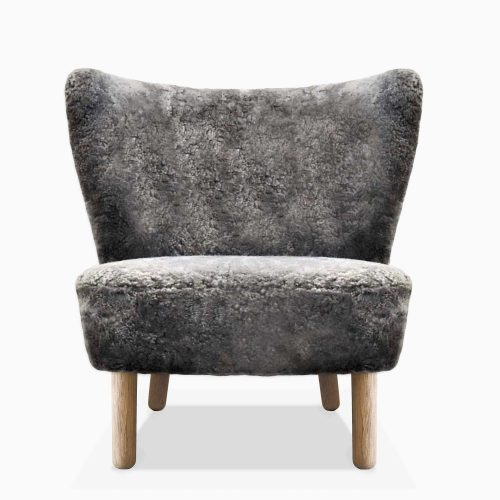 Domusnord-Take-a-Break-Lounge-Chair-Skin–stol-graa-Front