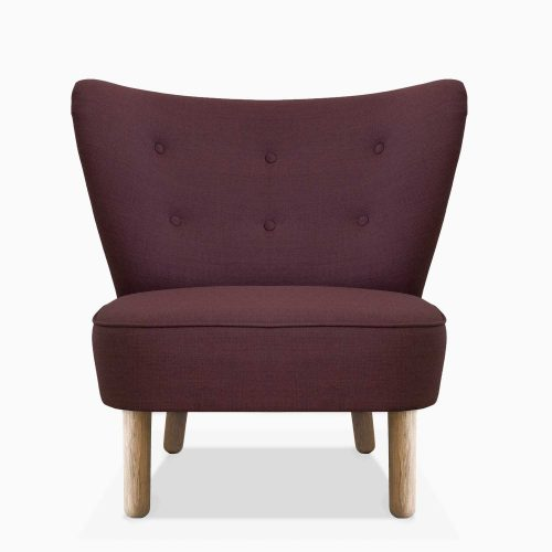 Domusnord-Take-a-Break-Lounge-Chair-Stol-Dark-Heather-Front