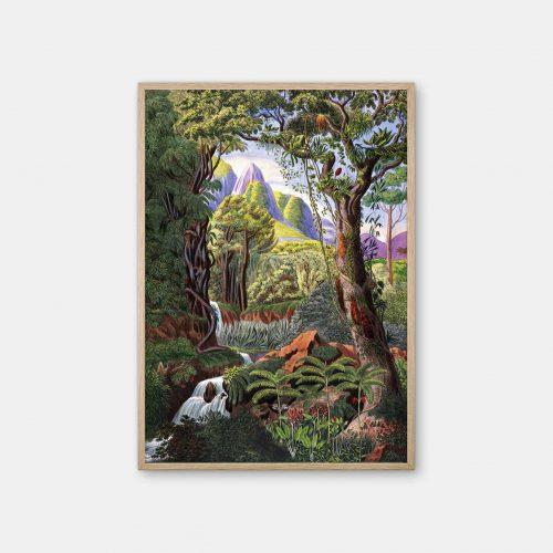 Gehalt-Botanisk-palmarum-kunstplakat-morenia-eg-ramme