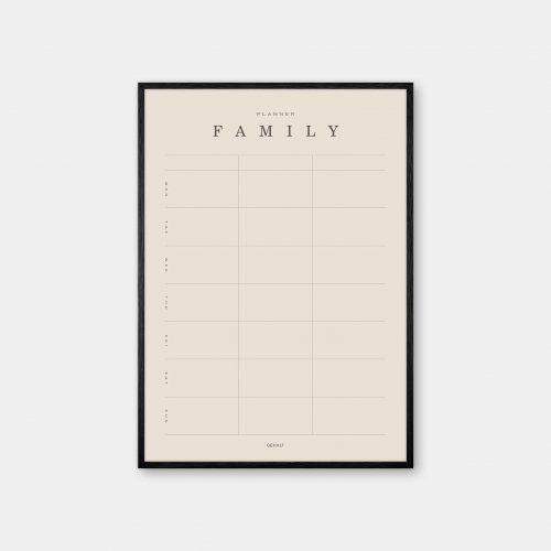 Gehalt-Family-Planner-3-Sand-Poster-Black-Painted-Frame