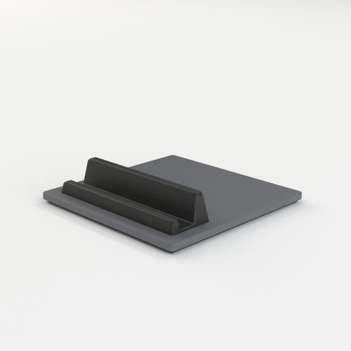 Tile iPad & iPhone holder - granite grey / mørkegrå