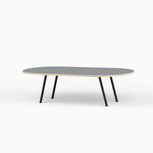 Line-View-Lounge-Table-Krydsfiner-Sofa-Bord-Ash-Stort-sort-ben