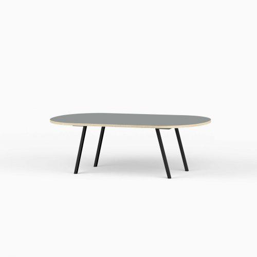 Line-View-Lounge-Table-Krydsfiner-Sofa-Bord-Ash-Stort-sort-ben