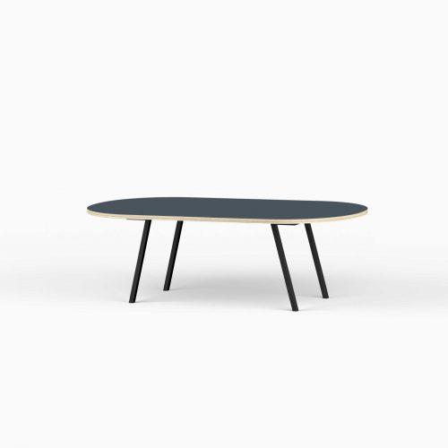 Line-View-Lounge-Table-Krydsfiner-Sofa-Bord-SmokeyBlue-Stort-sort-ben