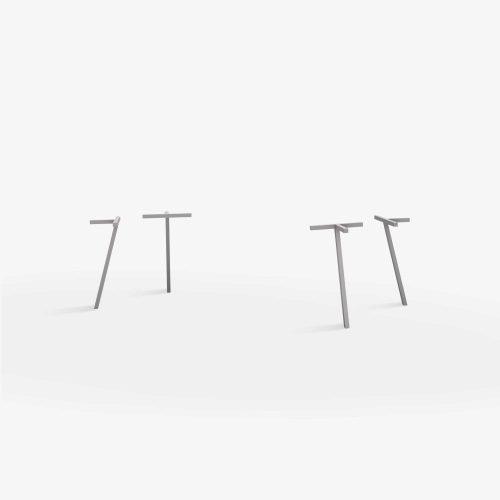 Line-view-single-legs-firkant-graa