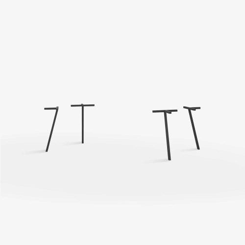 Line-view-single-legs-firkant-sort