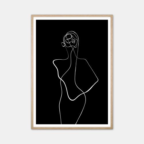 Peytil-Chance-Inverted-Plakat-Eg-Ramme-70x100-D