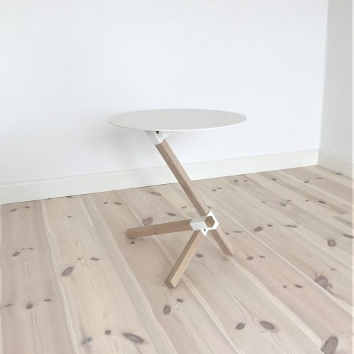 TRE Table white gulv-p