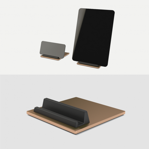 Tile-Ipad-Holder-Iphone-Holder-Tablet-holder-mobil-holder-Copper-Kobber-Kva-Domusnord-3