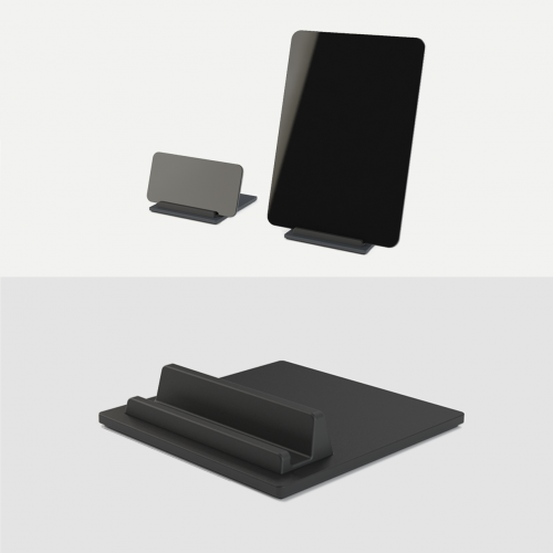 Tile-Ipad-Holder-Iphone-Holder-Tablet-holder-mobil-holder-Sort-Night-Black-Kva-Domusnord-3