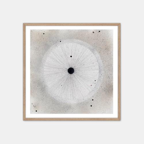 Winsløv-Sand-Circle-Plakat-Eg-Ramme-50x50-D