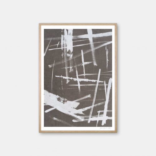 julia-hallstroem-abstract-white-plakat-eg-ramme