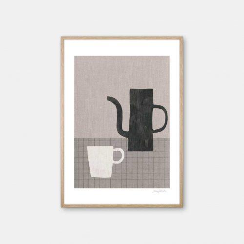 julia-hallstroem-coffee-plakat-eg-ramme