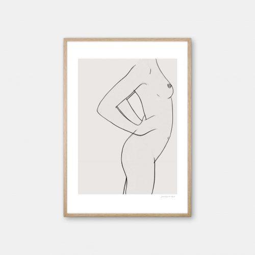 julia-hallstroem-femme-plakat-eg-ramme