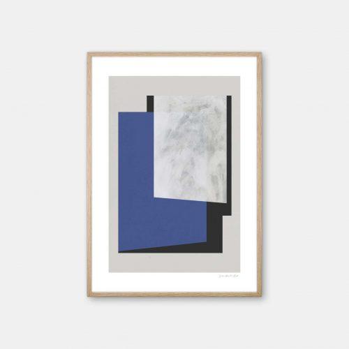 julia-hallstroem-klein-blue-plakat-eg-ramme