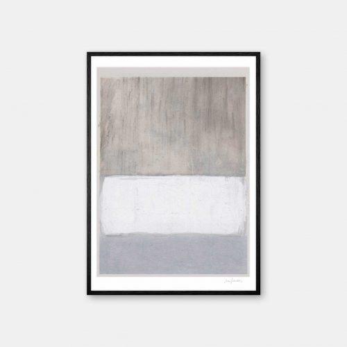 julia-hallstroem-marble-plakat-sort-ramme