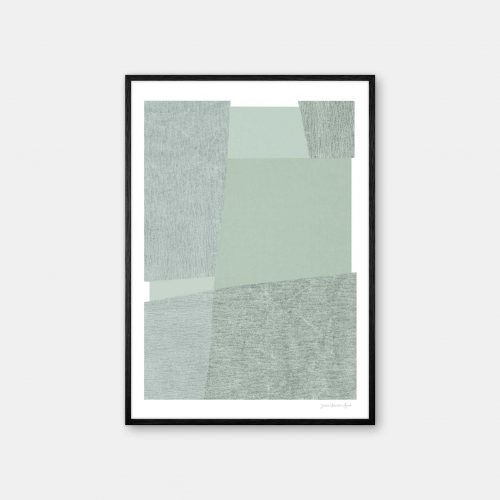 julia-hallstroem-mint-plakat-sort-ramme