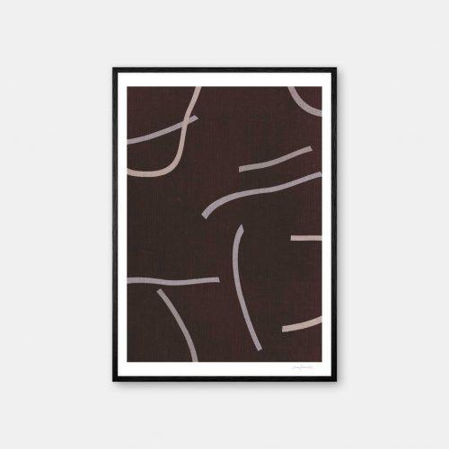 julia-hallstroem-moccha-plakat-sort-ramme