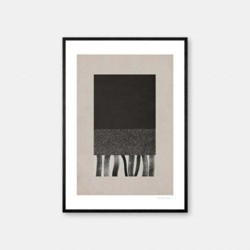 julia-hallstroem-nori-plakat-sort-ramme