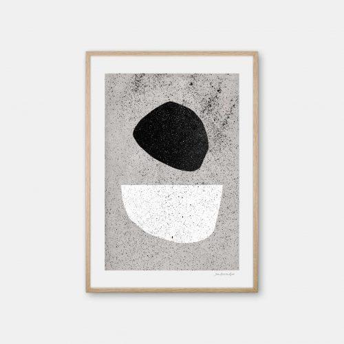 julia-hallstroem-pebbles-plakat-eg-ramme