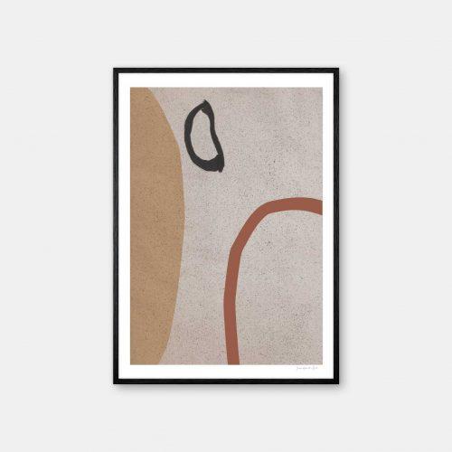 julia-hallstroem-terracotta-plakat-sort-ramme