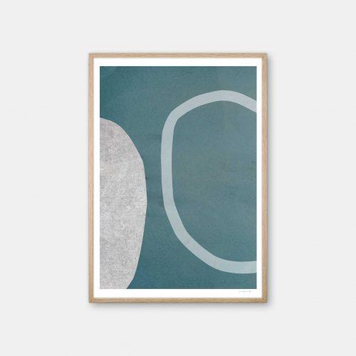 julia-hallstroem-turquoise-plakat-eg-ramme